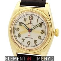 Rolex Oyster Perpetual Vintage 14k Yellow Gold Bubble Back...