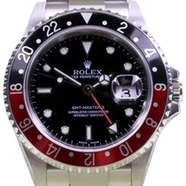 Rolex GMT-Master II 2 16710 Coke Men's 40mm Red Black...