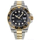 Rolex Gmt Master Ii 40mm 116713 Stainless Steel And 18k Yellow...