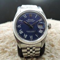 勞力士 (Rolex) DATEJUST 1601 SS Blue Buckley Dial with Folded...
