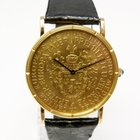 Corum Coin Watch Erster Europataler 1971 Robert Schumann Unikat