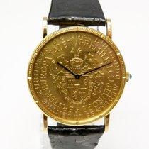 Corum Coin Watch Erster Europataler 1971 Robert Schumann Unikat
