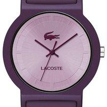 Lacoste Tokyo Womens Fashion Watch Purple Silicon Strap 2020075