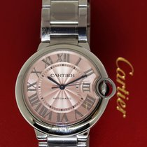 Cartier Ballon Bleu Steel Automatic 36mm Box/Papers  W6920041