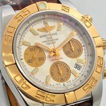 Breitling Chronomat B01 41mm Stahl Roségold B+P