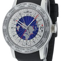 Fortis B-47 World Timer GMT 674.20.15 L.01