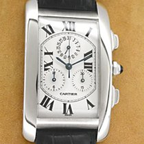 "Cartier ""Tank Americaine"" Chronograph."