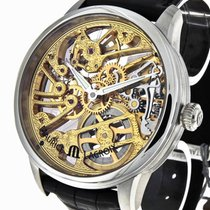 Maurice Lacroix Masterpiece Squelette Stahl Ref. MP7208-SS001-00