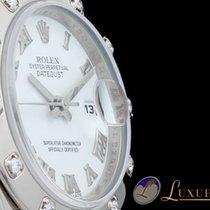 Rolex Lady-Datejust Pearlmaster Rehaut 18kt Weissgold &...