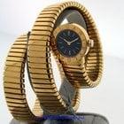 Bulgari Tubogas 18k Yellow Gold Ladies Pre-owned