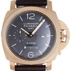 Panerai Luminor 1950 8 Days GMT Men's 18k Rose Gold Watch...