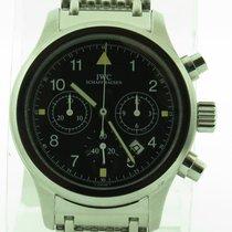 IWC Der Flieger Chronograph 3741 Pilot Quartz Chrono Date...