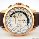 Girard Perregaux Chronograph World Time Traveller Rose Gold...