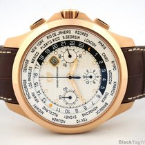 Girard Perregaux Chronograph World Time Traveller Rose Gold...