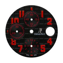 Audemars Piguet 42mm Black Méga Tapisserie Pattern Custom Dial