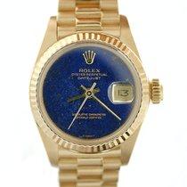 Rolex Lady Datejust Oro Giallo Lapis President art. RL1248