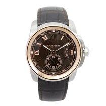 Cartier Calibre de Cartier Chronograph 42mm Steel & Rose...
