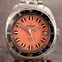 Eterna Sonic Kontiki Ref. 131 Ftp Vintage 1971 Dive Watch Cal....
