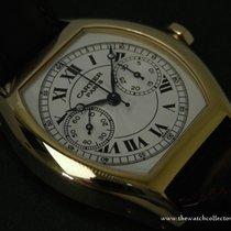 Cartier : Rare Collection Privée Tortue Mono Poussoir Yellow Gold