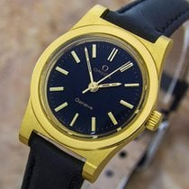 Omega Geneve Gold Plated Manual Wind Dress Watch C1970 C3