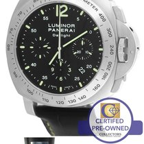 Panerai PAM 250 Luminor Daylight Chronograph Automatic 44mm Watch