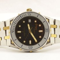 Breitling Tabarly Herren Uhr 37mm Stahl/gold Vintage Rar Ref....