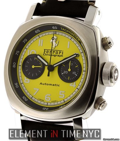 Panerai Ferrari Chronograph Yellow Dial FER00011