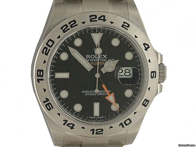 Rolex Explorer II neues Modell 42mm