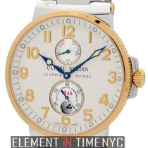 Ulysse Nardin Maxi Marine Chronometer 1846 Steel & Gold