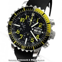 Fortis B-42 Marinemaster Yellow Day/Date Chronograph