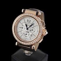 Cartier PASHA CHRONO 42mm ROSE GOLD DIAMOND