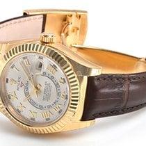 Rolex Sky Dweller 18K Solid Yellow Gold