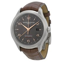 Baume & Mercier Men's M0A10111 Clifton Steel Watch