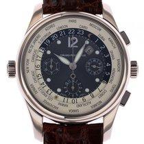Girard Perregaux WW.TC Chronograph Weltzeit 18kt Weißgold...