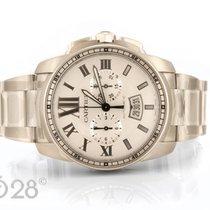 Cartier NEU -32% Cartier Calibre Chronograph W7100045 Edelstah...