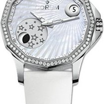 Corum Admiral's Cup Legend Mystery Moon in Steel with...