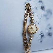 Rolex Precision Vintage Solid Gold 9K Woman