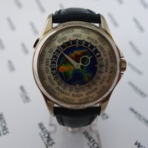 Patek Philippe World Time Enamel Dial White Gold 5131G-010