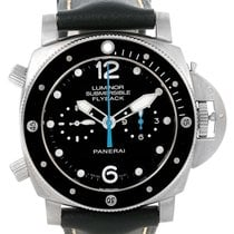 Panerai Luminor Submersible 3 Days Chrono Flyback Watch Pam615...