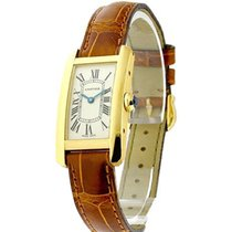 Cartier W2601556 Tank American Small Size in Yellow Gold -...