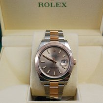 Rolex NEW DateJust TuTone 18kt Everose Gold/SS Bracelet -126301