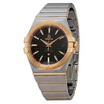 Omega Constellation Automatic Steel and Rose Gold Mens Watch...