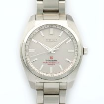 Seiko Grand Seiko Steel Bracelet Watch Ref. SBGX091