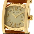 Bulgari Assioma 18k Yellow Gold 30mm Ivory Dial Ref. AA 39 G