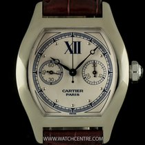 Cartier 18k White Gold Rare Monopusher Tortue Privee Collection