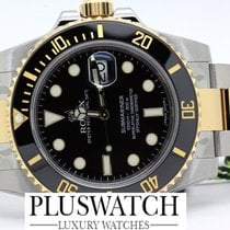 Rolex submariner 116613 STEEL GOLD nuovo new