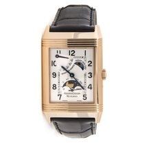 Jaeger-LeCoultre Reverso Sun Moon 18K Solid Rose Gold