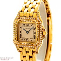 Cartier Panthere Lady Quarz 18k Yellow Gold Bj-1995