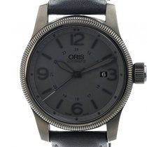Oris Big Crown Date Stahl Automatik Lederband 44mm
