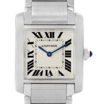 Cartier Tank Francaise Midsize Nondate Stainless Steel Watch...